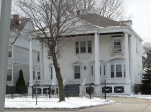 Neoclassical home, Port Huron
