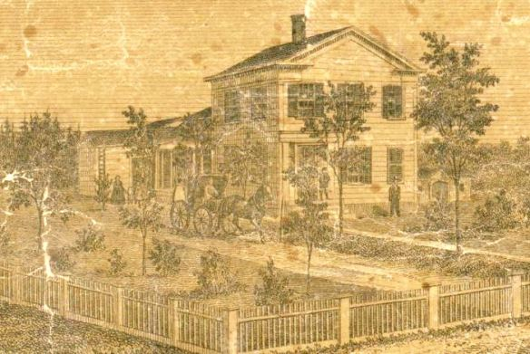 Lucius Beach residence, 1859
