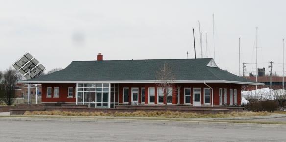 Pere Marquette RR station, Port Huron