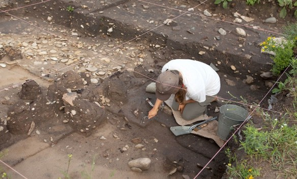 Michilimackinac archaeology