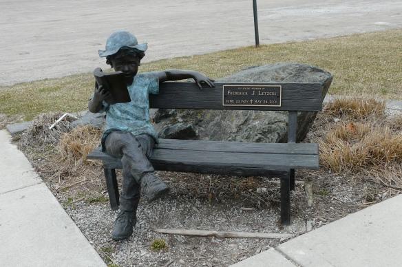 J Letzgus memorial, Desmond Landing, Port Huron