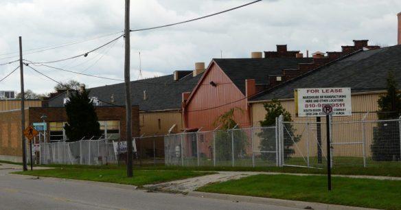 PHE&TCo buildings. partial, Port Huron 2016