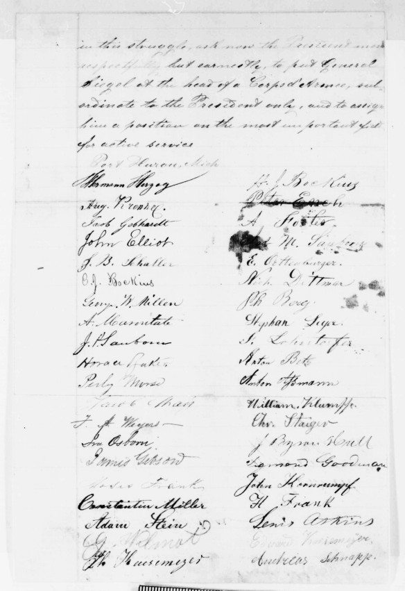 Lincoln petition, 1862, p 2