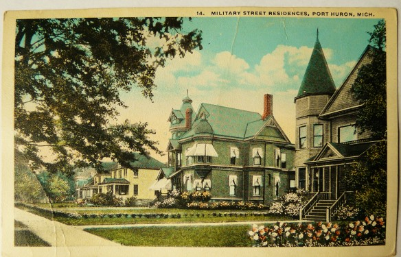 The Jenkinson House as shown on a post card that was mailed in 1919.