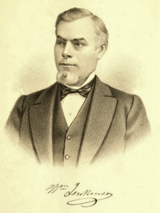 One of the very few illustrations in the History, a portrait of William Jenkinson (page 576.5).