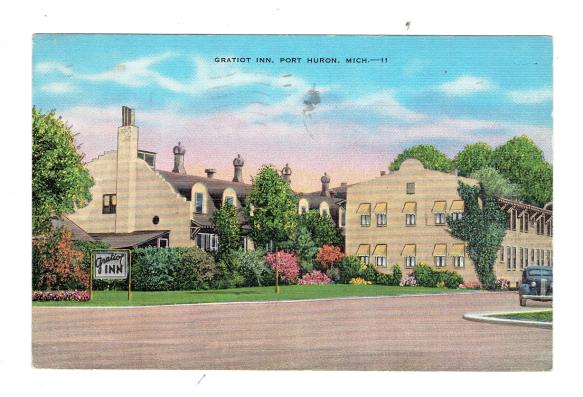 port huron postcardd
